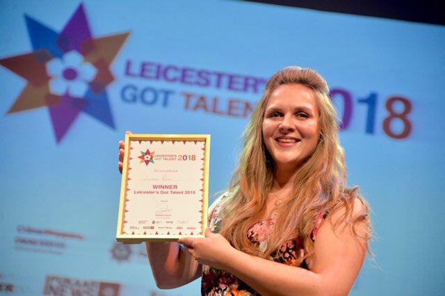 Lauren Rose Norton - Winner of Leicester's Got Talent 2018